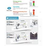 LH-3588A-7 Double Needle Lock Stitch Sewing 3