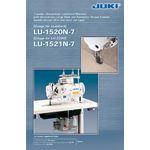 LU-1521N-7 Gauge (metric) 1-needle, Unison-feed 3