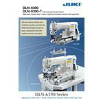 JUKI DLN-6390 Bottom Hemmer Sewing Machine for Jeans and Uniforms