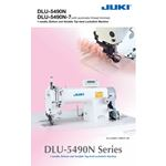 DLU-5490N Single Needle Lockstitch Sewing 3