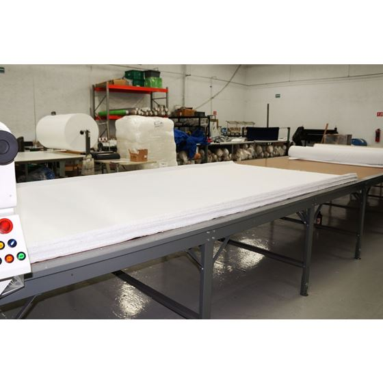 industrial fabric cutting table o1