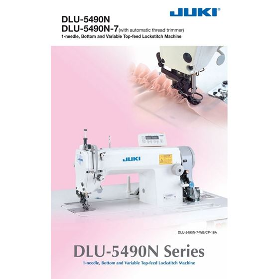 DLU-5490N Single Needle Bottom Top Feed Sewing M-3