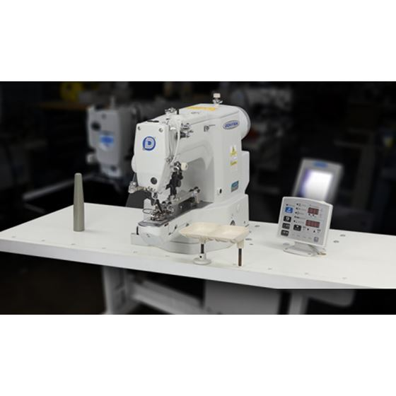 Electronic Lockstitch Button Sewing Machine