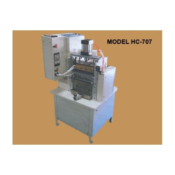 HC-707 Strip Cutter Machine