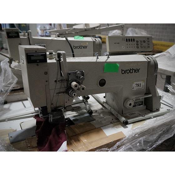 DOUBLE NEEDLE LOCKSTITCH SEWING MACHINE