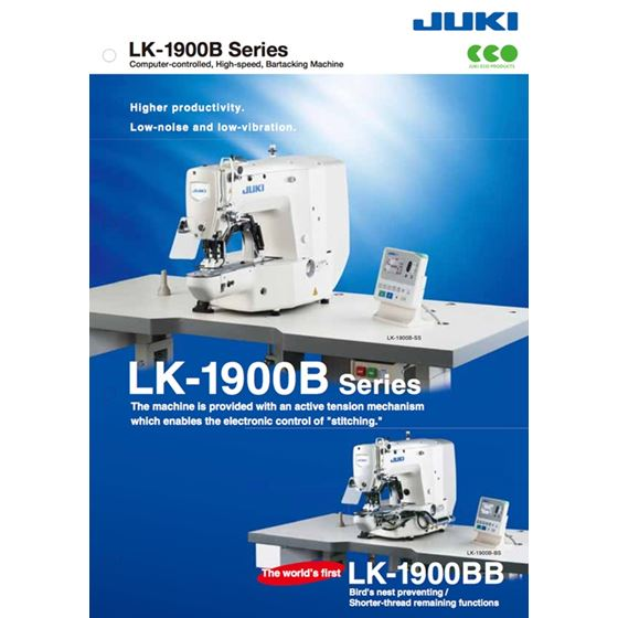 LK-1900B-HS Bartacking Sewing Machine 2
