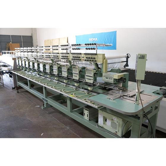 TME-HC912 Embroidery Machine 12 Heads