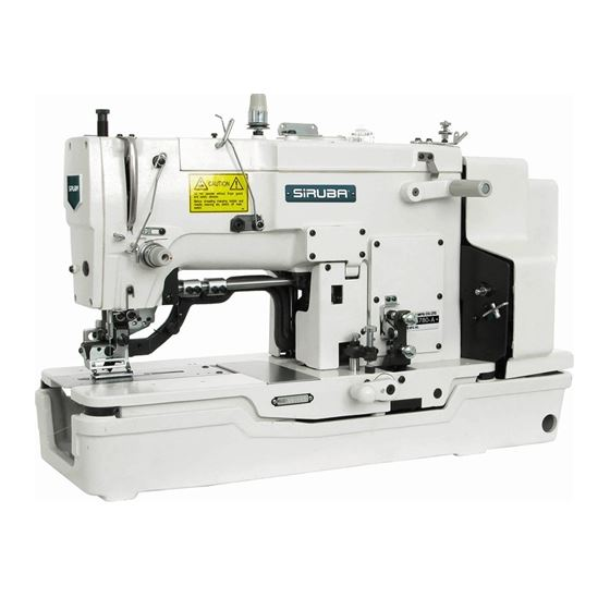 BH780 HIGH SPEED 1-NEEDLE LOCKSTITCH BUTTONHOLING SEWING MACHINE