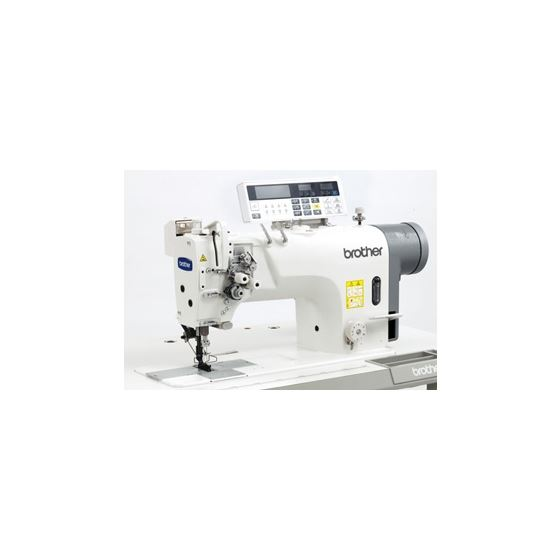 Brother T-8722C Twin Needle Direct Drive Lock Stitcher With Large Hook and Thread Trimmer Sewing Mac