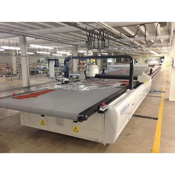 GT5250 Automatic Cutter Automatic Fabric Cutting 3