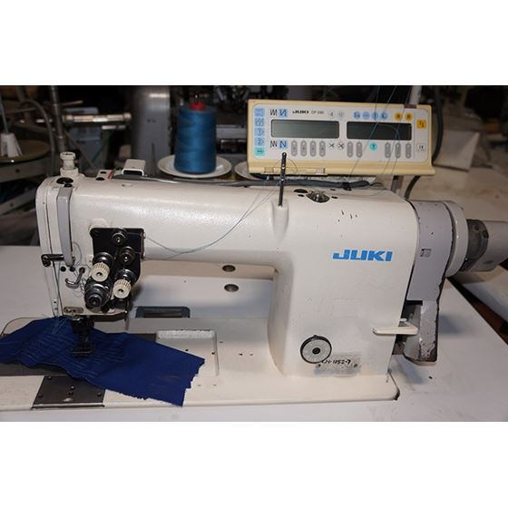 LH-1152-7 Automatic Double Needle Sewing Machine