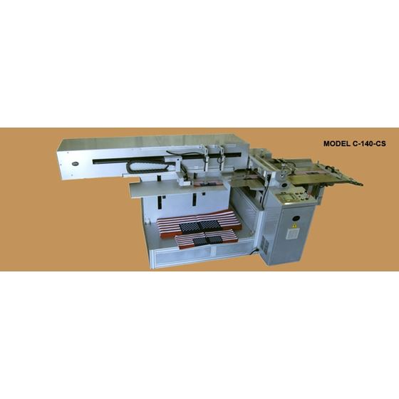 C-140-CS AUTOMATIC FLAG CUTTING MACHINES