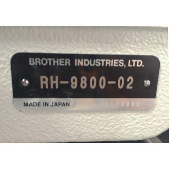 Brother RH9800-02 Keyhole