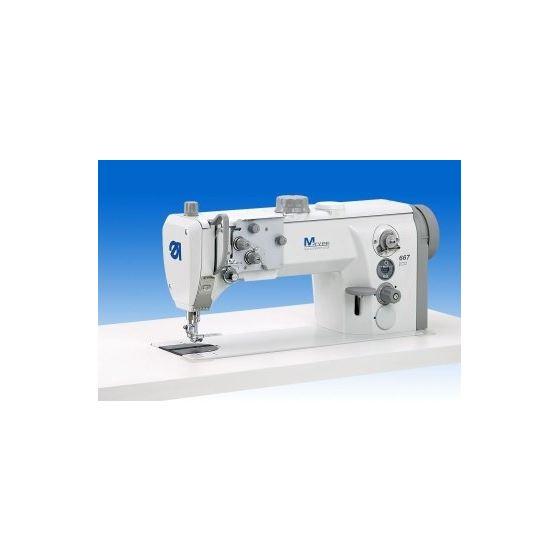 DURKOPP ADLER 667-180112 New M-Type Flat-Bad Silverline Sewing Machine