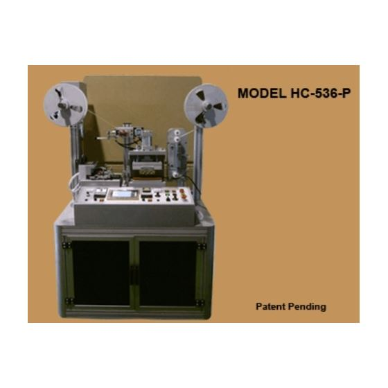 HC-536-P Hot and Cold Strip Cutter / Printing Mach