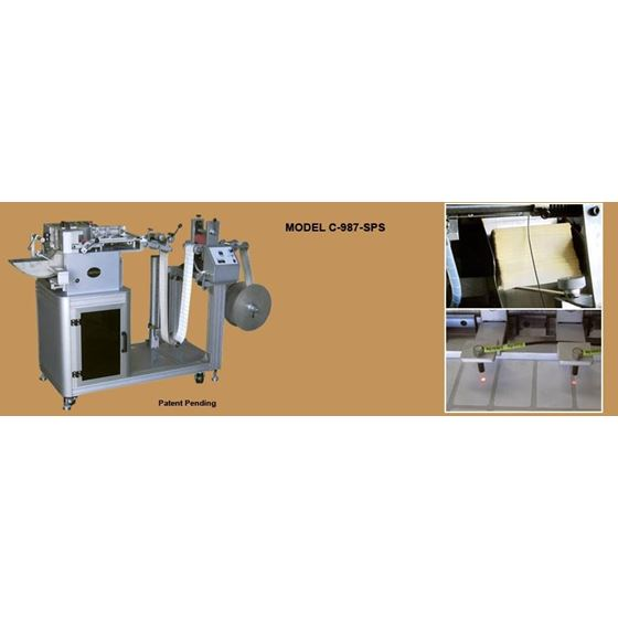 SHEFFIELD C-987-SPS Automatic Label Cutting Machines